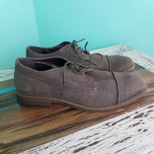 Marc Anthony suede leather brown  shoes